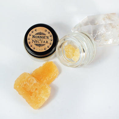 Limited Stock: Smokable CBD Shatter - Broad Spectrum with Terpenes (THC Free)