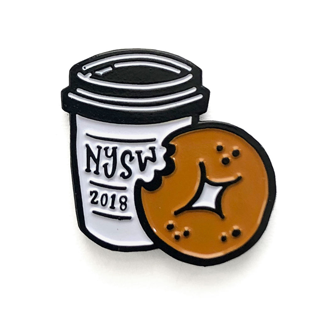 IDKWTF NYSW 2018 Coffee Cup Pin