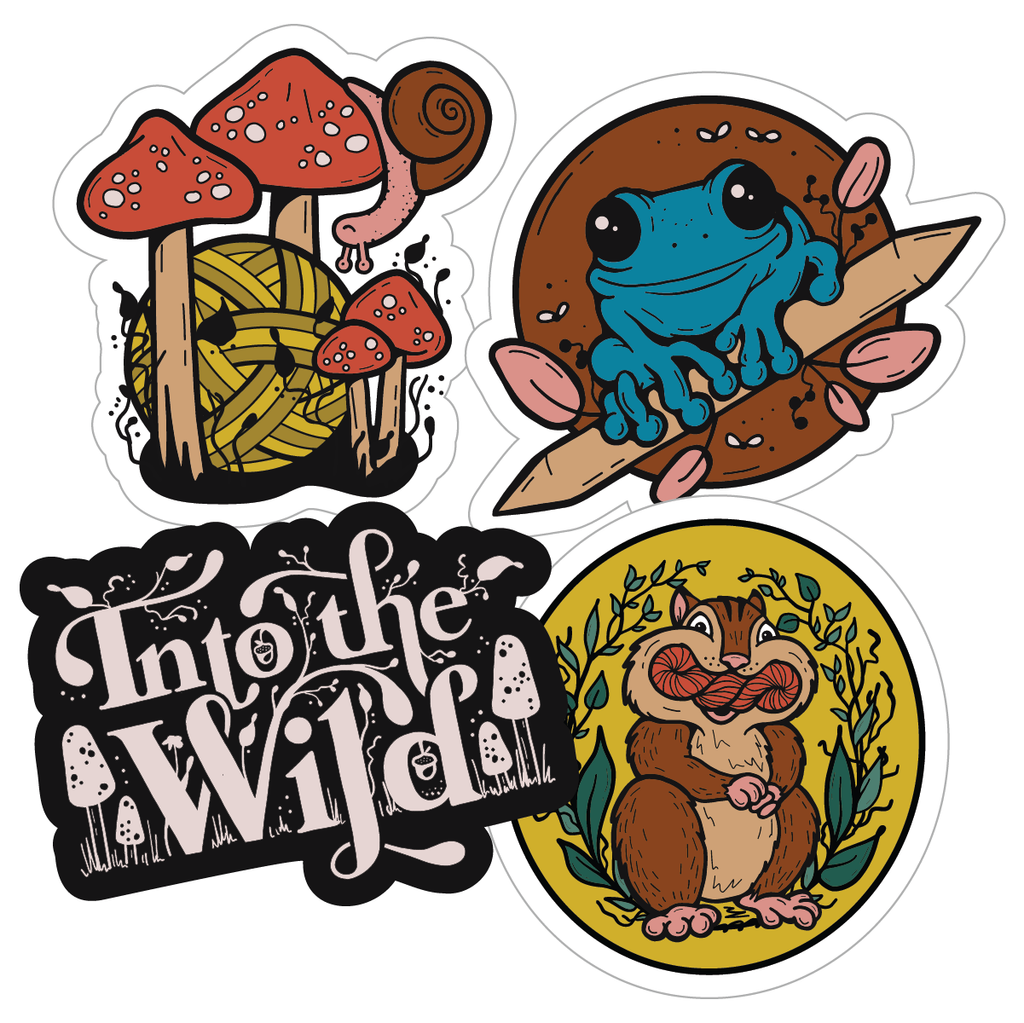 PREORDER Into The Wild Sticker Pack
