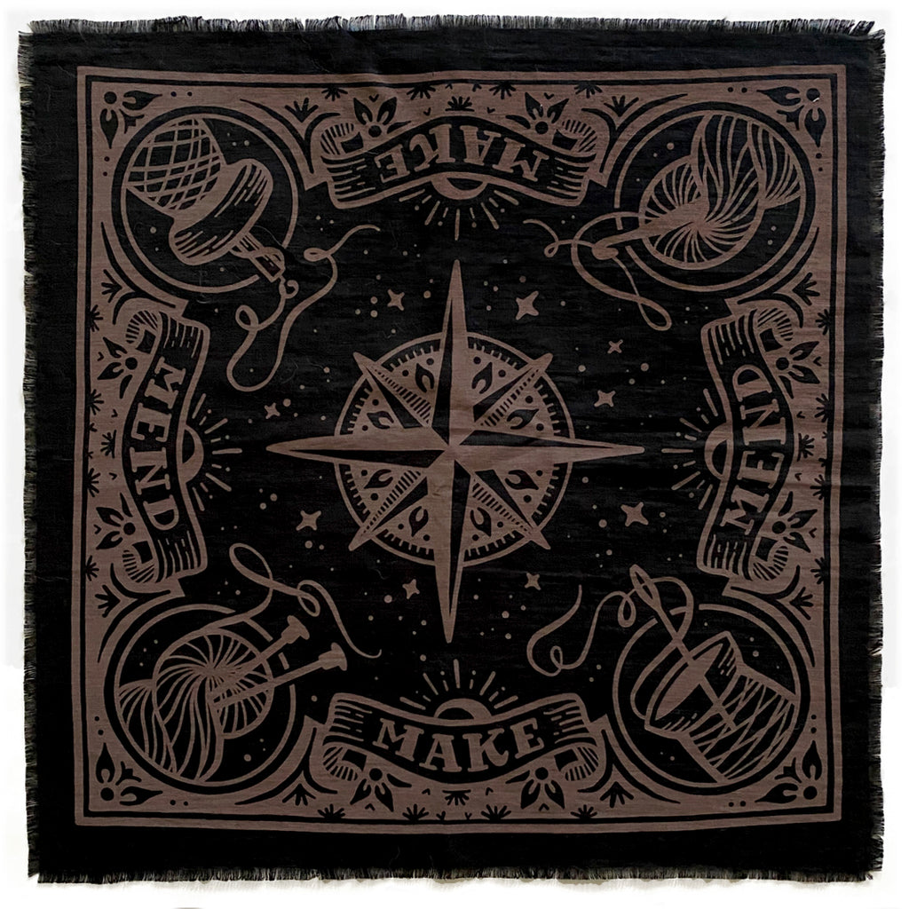 Maker Bandana, Black