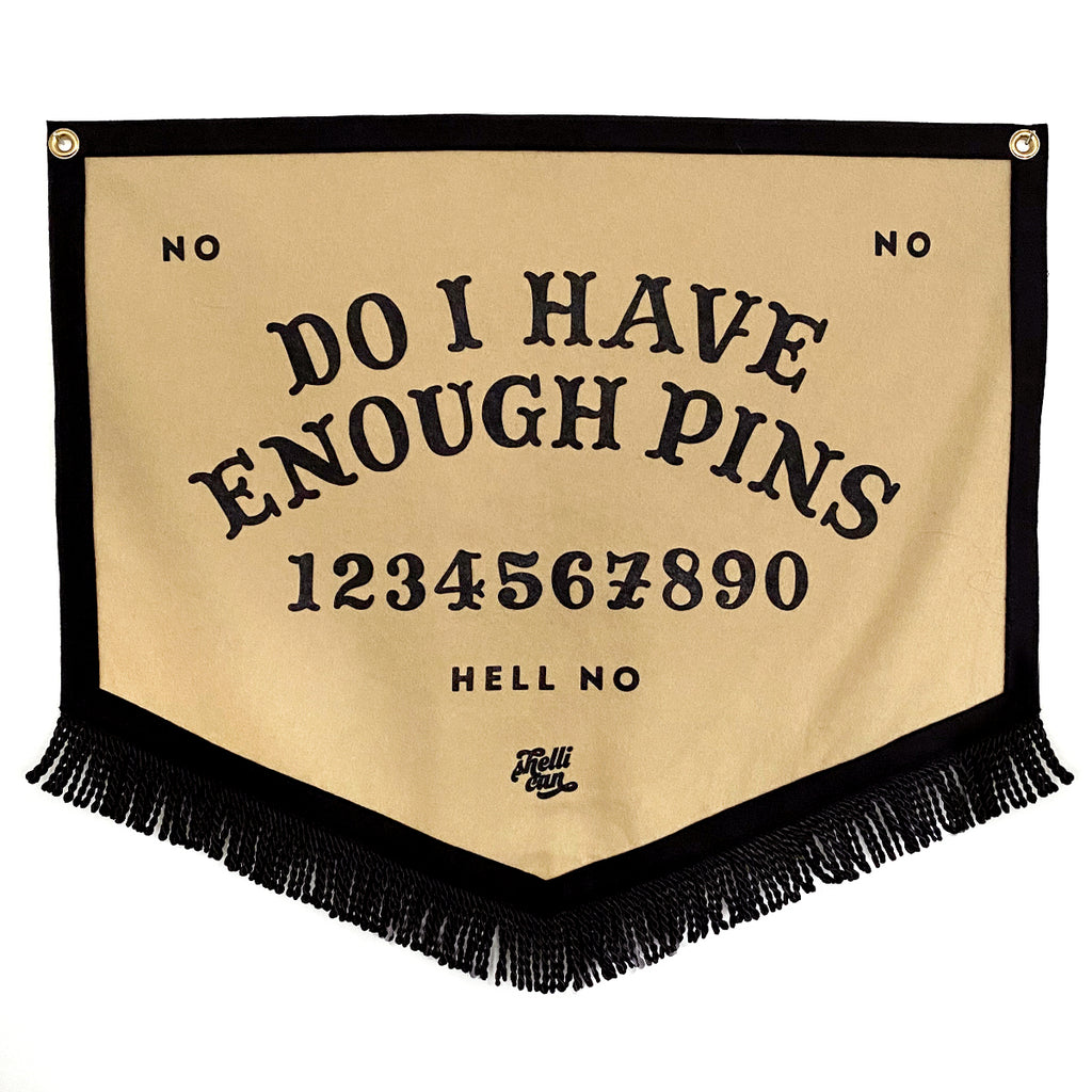 Ouija Pin Collecting Banner