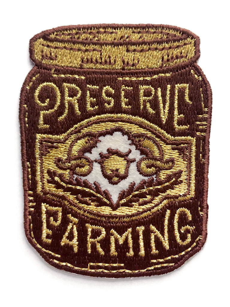 Preserve Farming Iron-On Patch