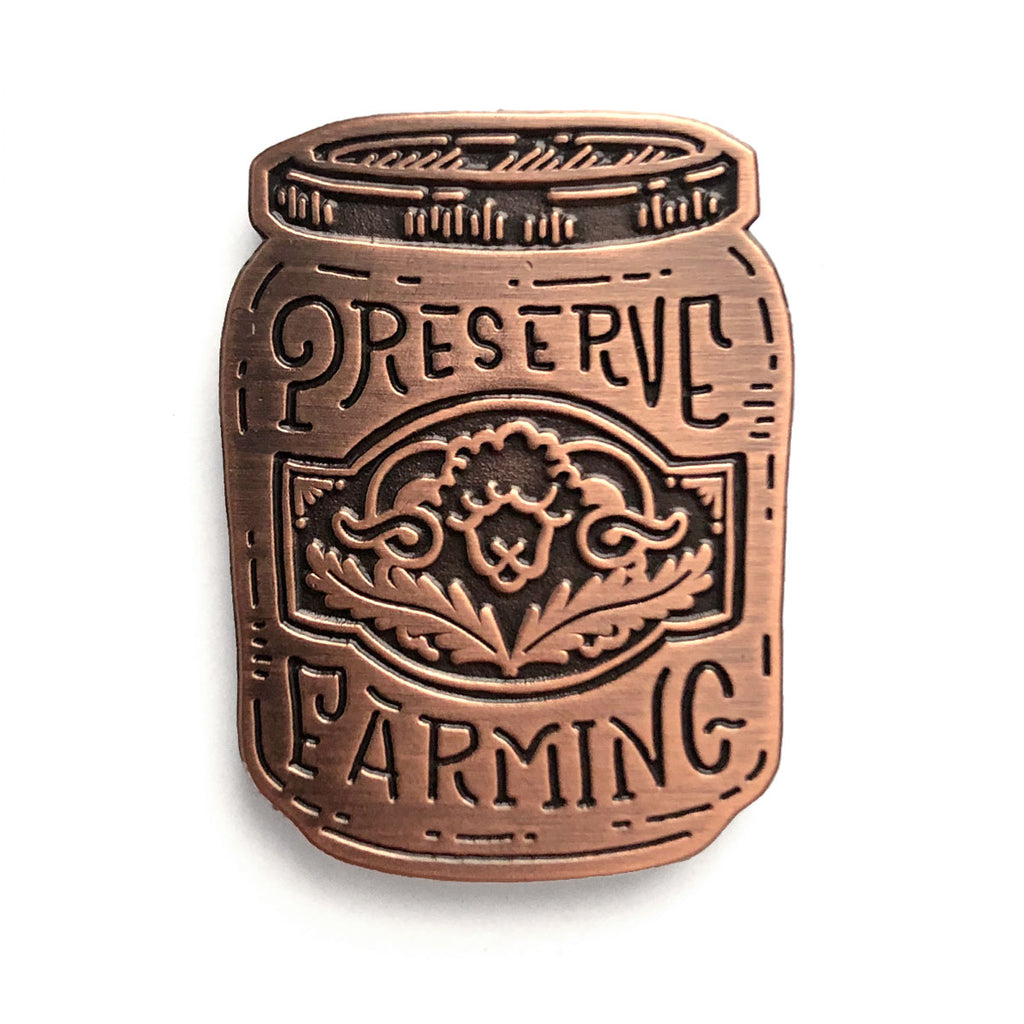 Preserve Farming Pin