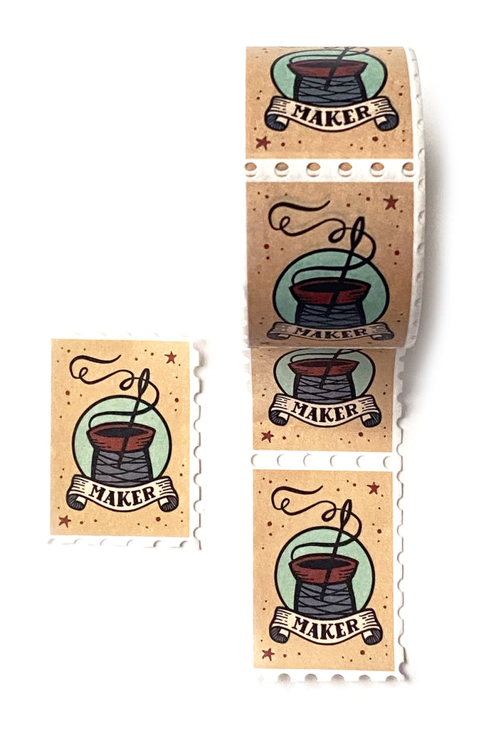 Stamp Washi, Stitch