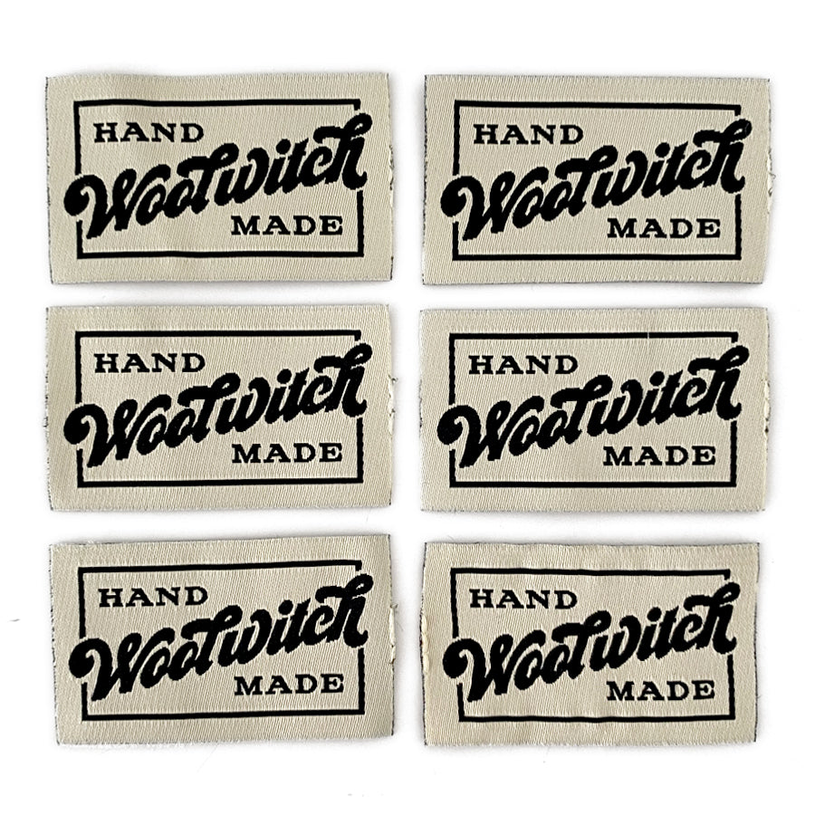Wool Witch Labels 6-pack, Ivory