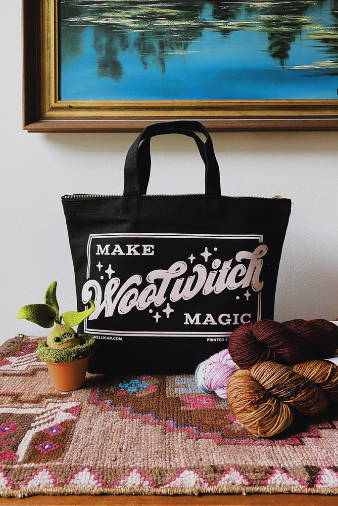 Wool Witch Tote, Night