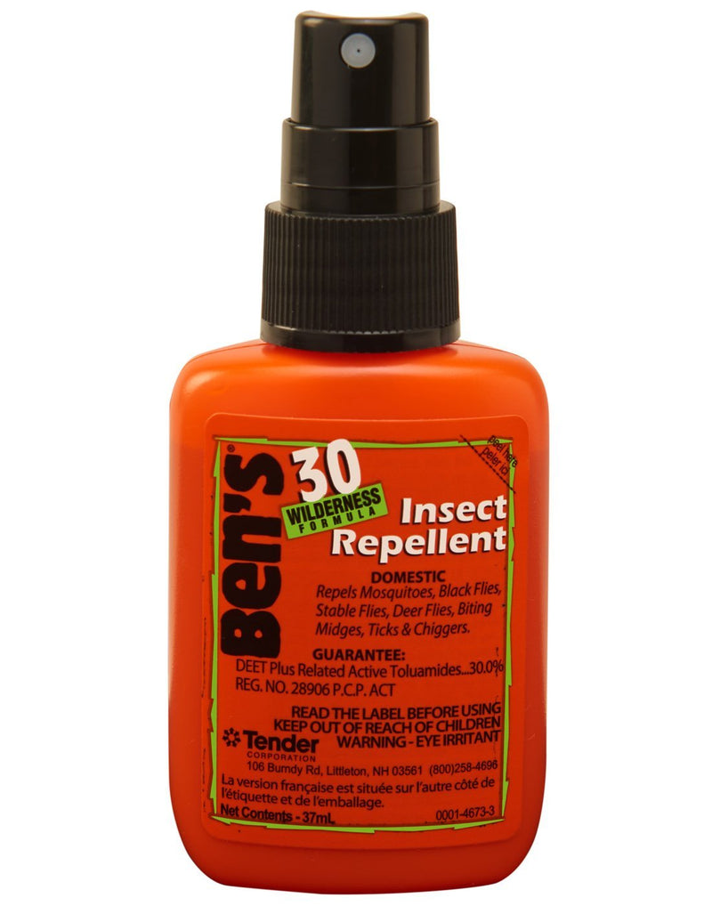Ben's 30 insect repellent 37 mL pump front view