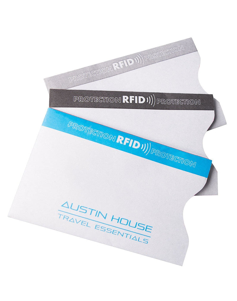 Austin House Set of 3 Cards Sleeves with RFID Protection