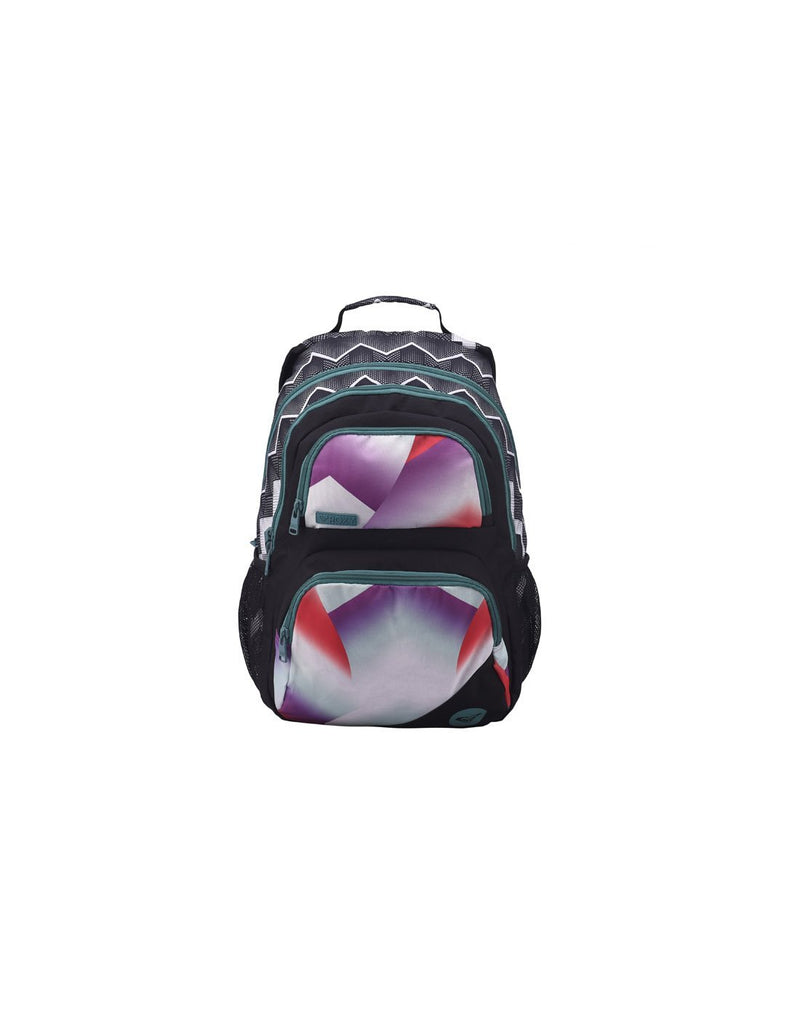 Roxy shadow dream backpack optic black colour front view