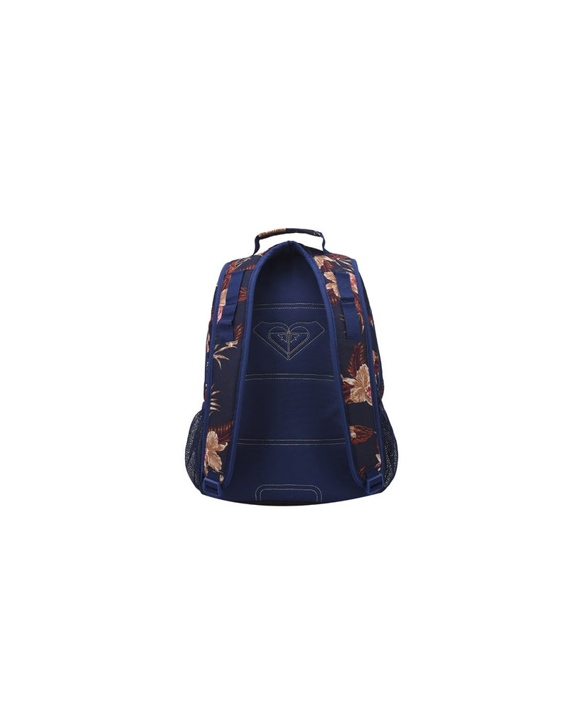 Roxy shadow dream backpack castaway blue colour back view