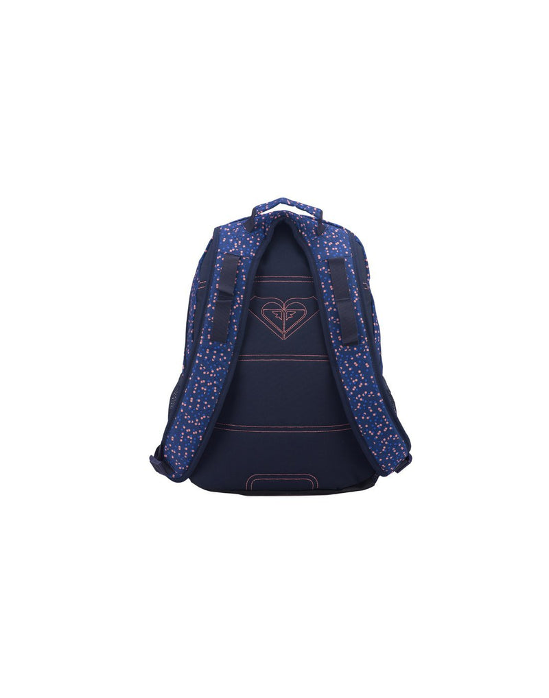 Roxy shadow dream backpack dotsy colour back view