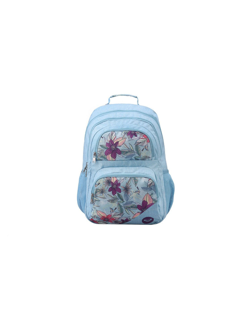 Roxy shadow dream backpack hawaiian colour front view
