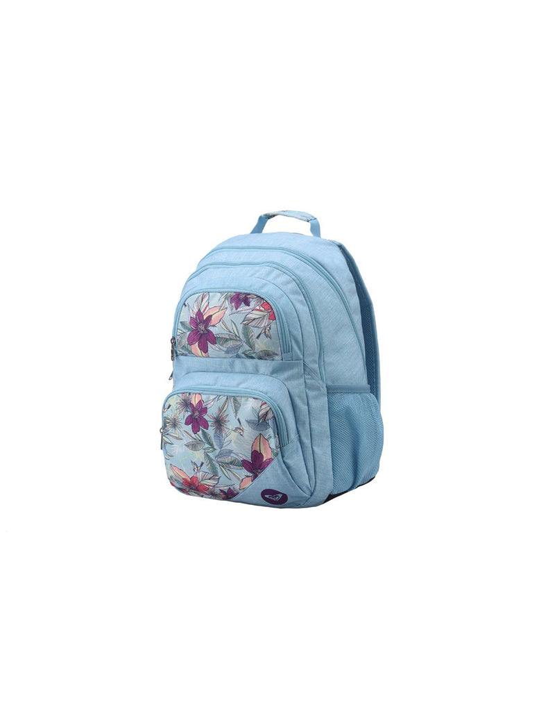 Roxy shadow dream backpack hawaiian colour corner view