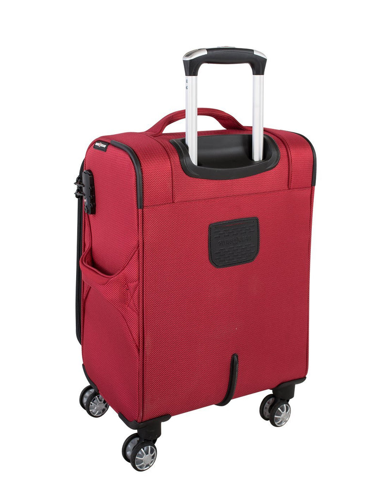 "Swiss gear neolite 3 19"" carry-on spinner luggage bag back view"