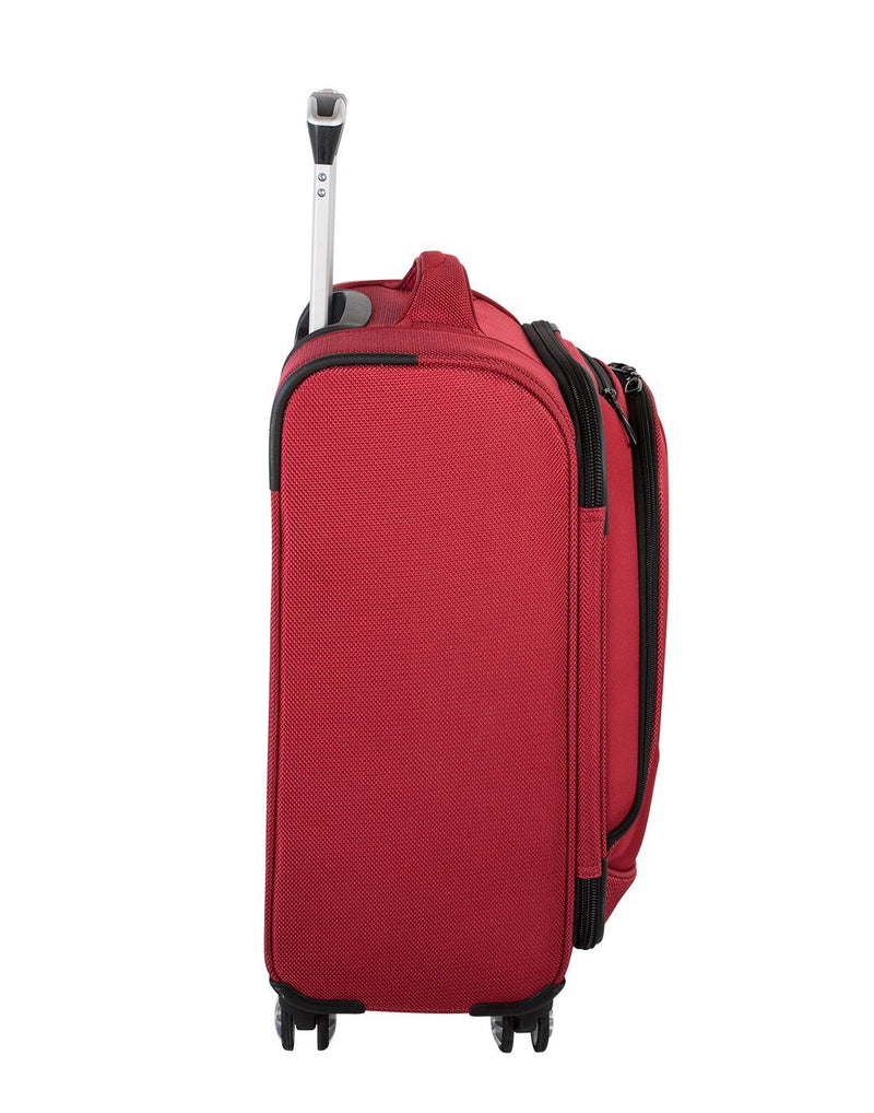 "Swiss gear neolite 3 19"" carry-on spinner luggage bag side view"