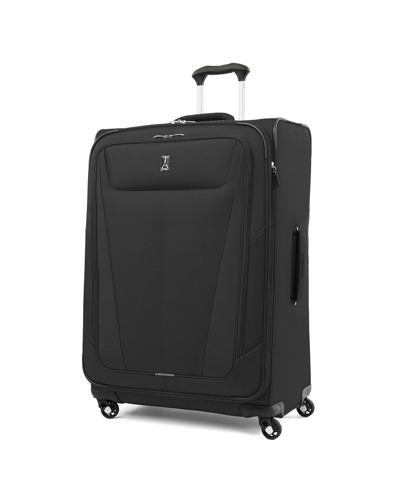 "Travelpro maxlite 5 29"" exp spinner black colour luggage bag front view"