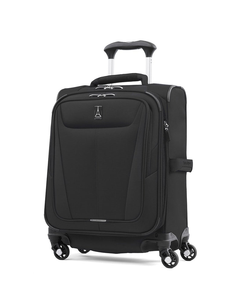"Travelpro maxlite 5 19"" intl spinner black colour luggage bag front view"