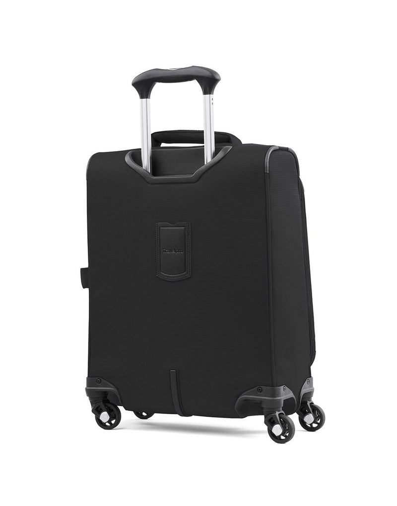 "Travelpro maxlite 5 19"" intl spinner black colour luggage bag back view"