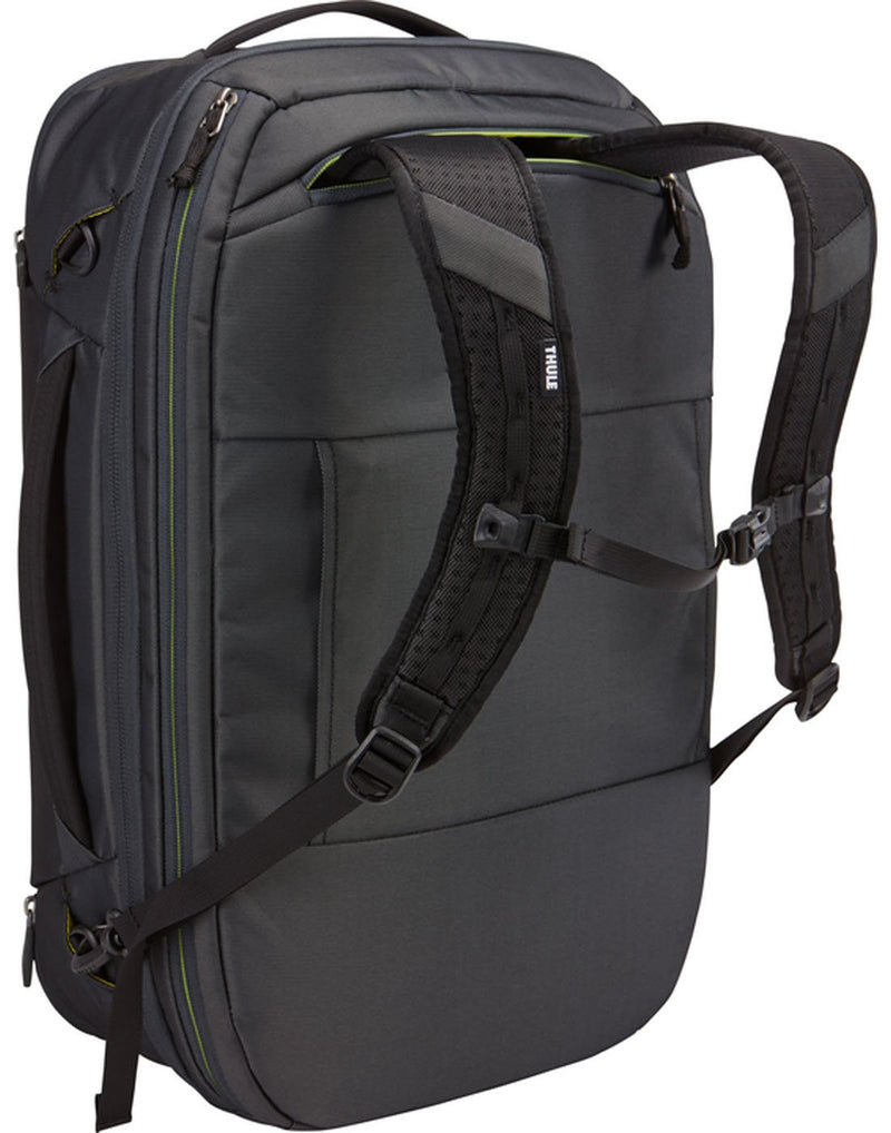 Thule subterra carry-on 40L dark shadow colourbag using as backpack
