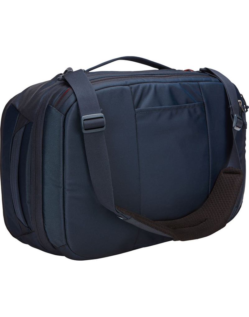 Thule subterra carry-on 40L mineral colourbag back view