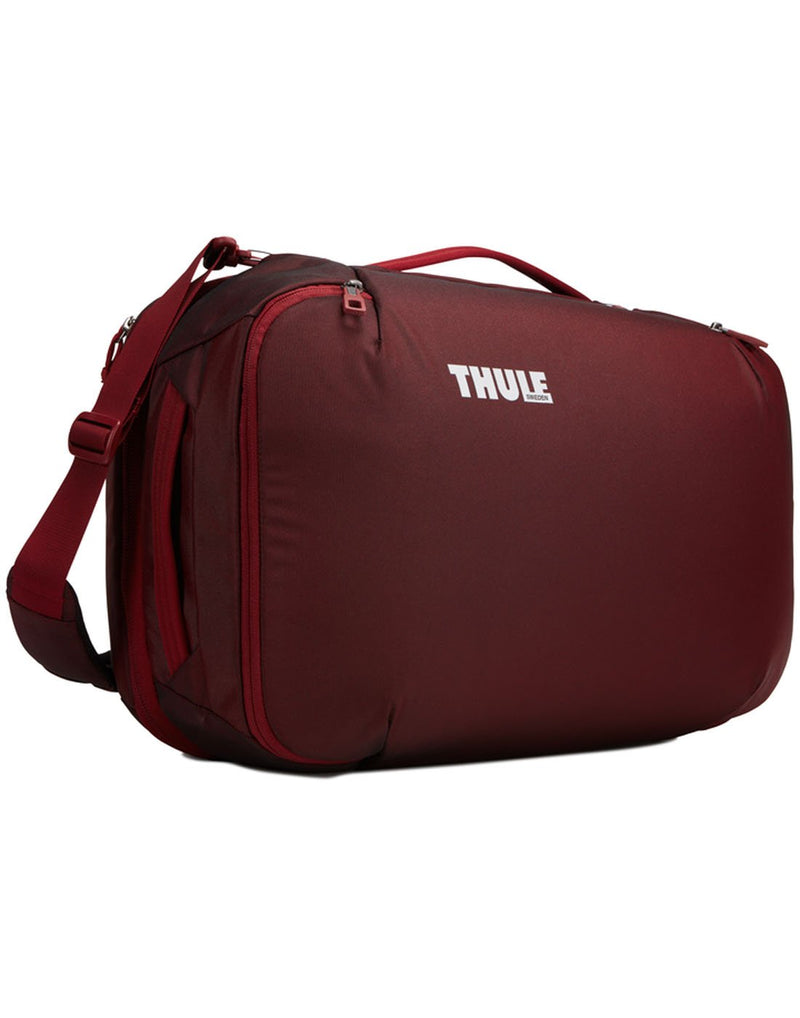 Thule subterra carry-on 40L ember colour bag front view