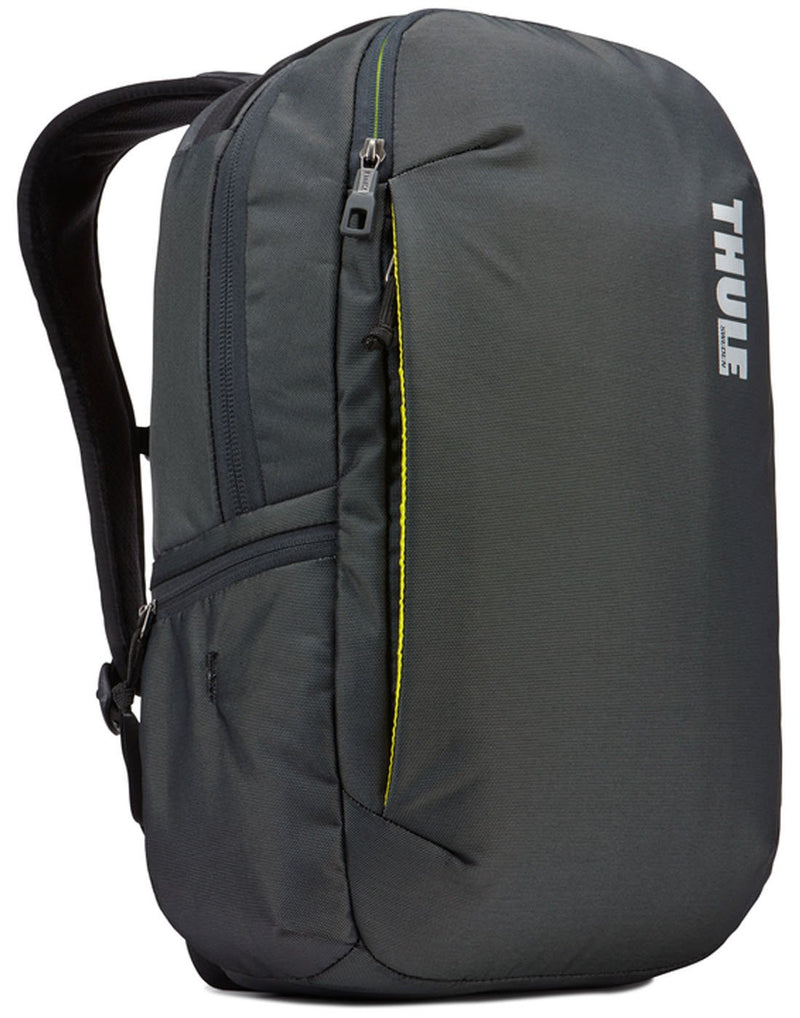 Thule subterra 23L dark shadow colour backpack front view