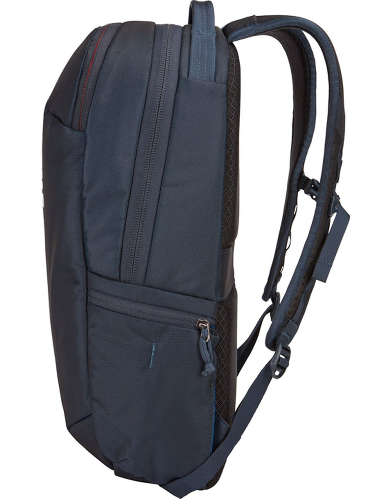 Thule subterra 23L mineral colour backpack  side view