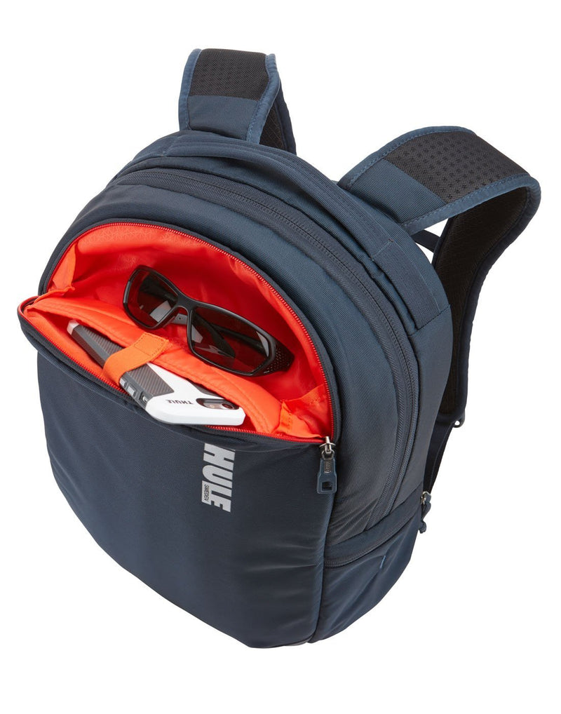 Thule subterra 23L mineral colour backpack front pocket