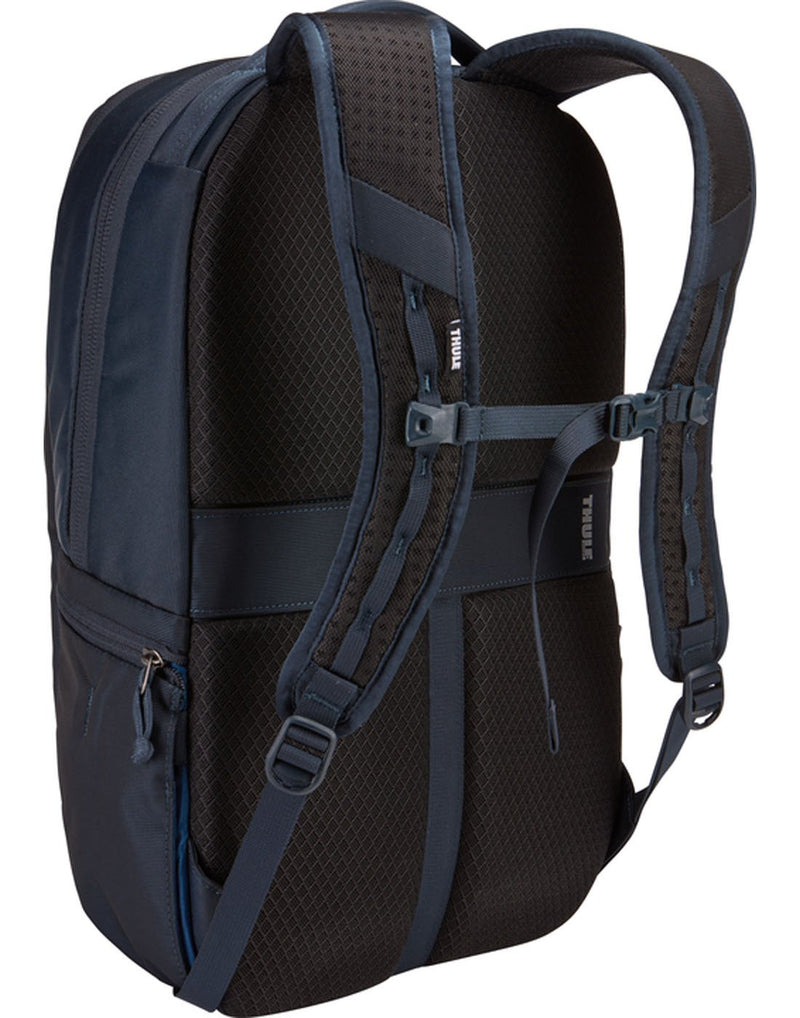 Thule subterra 23L mineral colour backpack back view