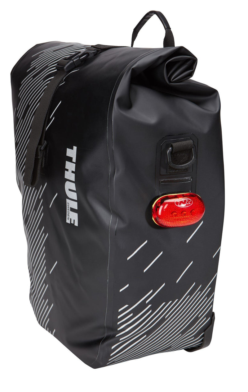 Thule shield pannier bike bags side view