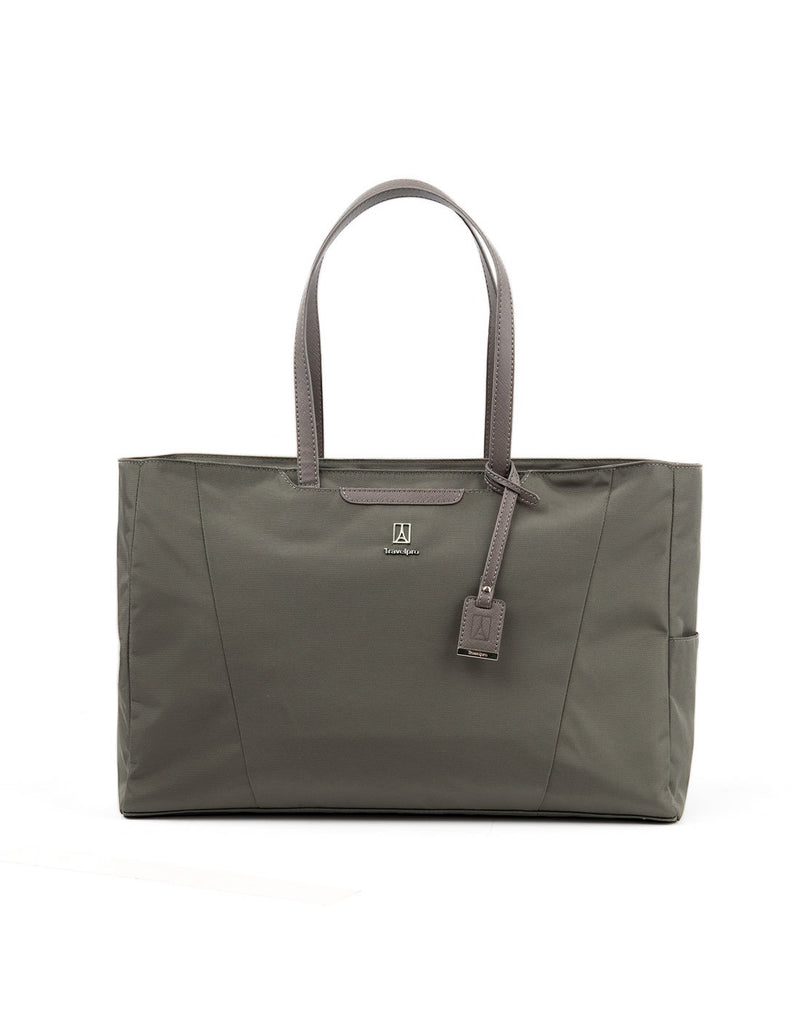 Travelpro maxlite 5 women's slate green colour tote front view