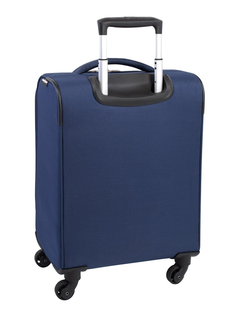 Swiss gear excursion carry-on spinner navy colour luggage bag back view