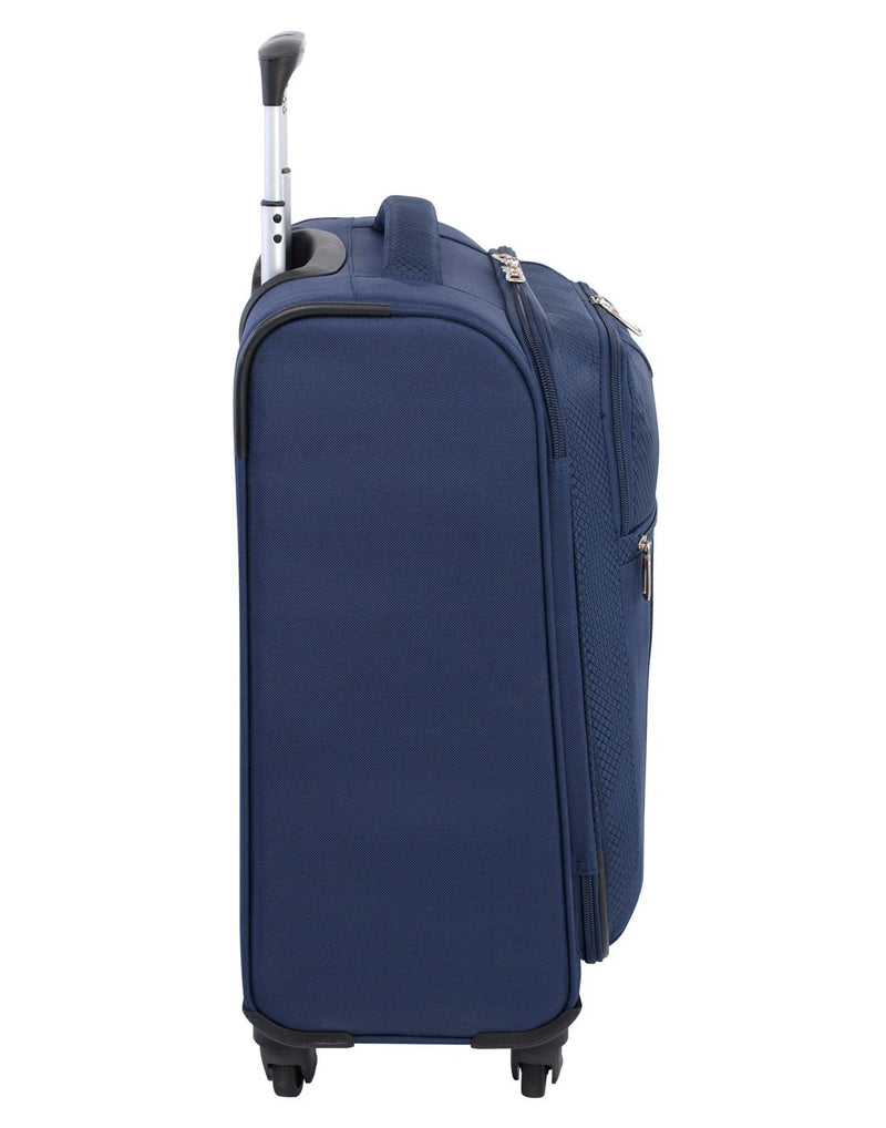 Swiss gear excursion carry-on spinner navy colour luggage bag right side view