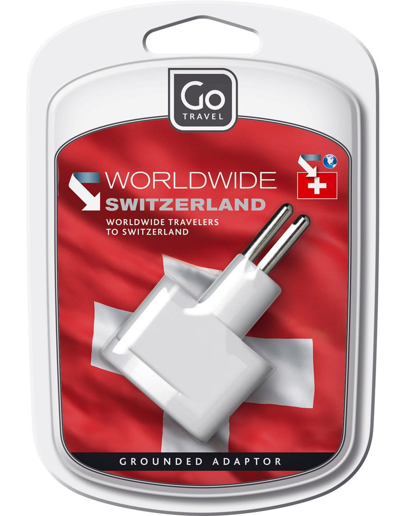 Go travel woldwide grounded adapter packaged