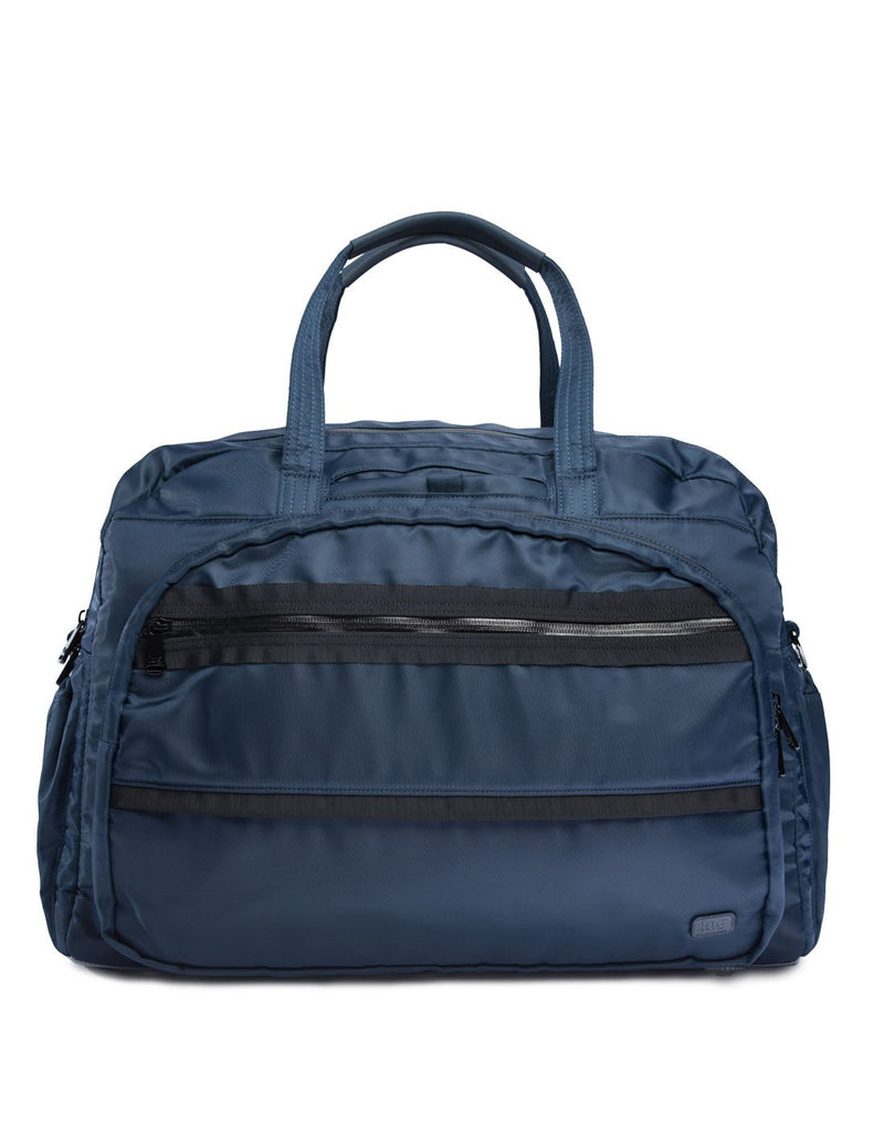 Lug steamboat contemporary navy colour duffle bag