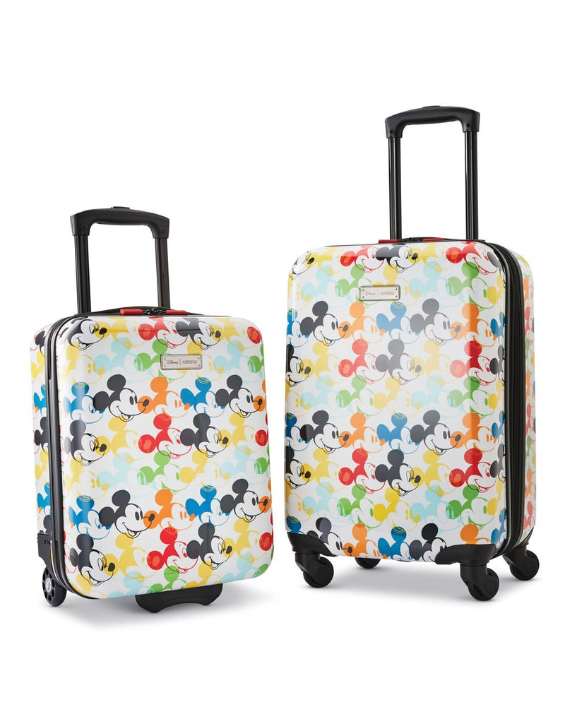 Disney roll aboard 2pc set luggage bag product set view