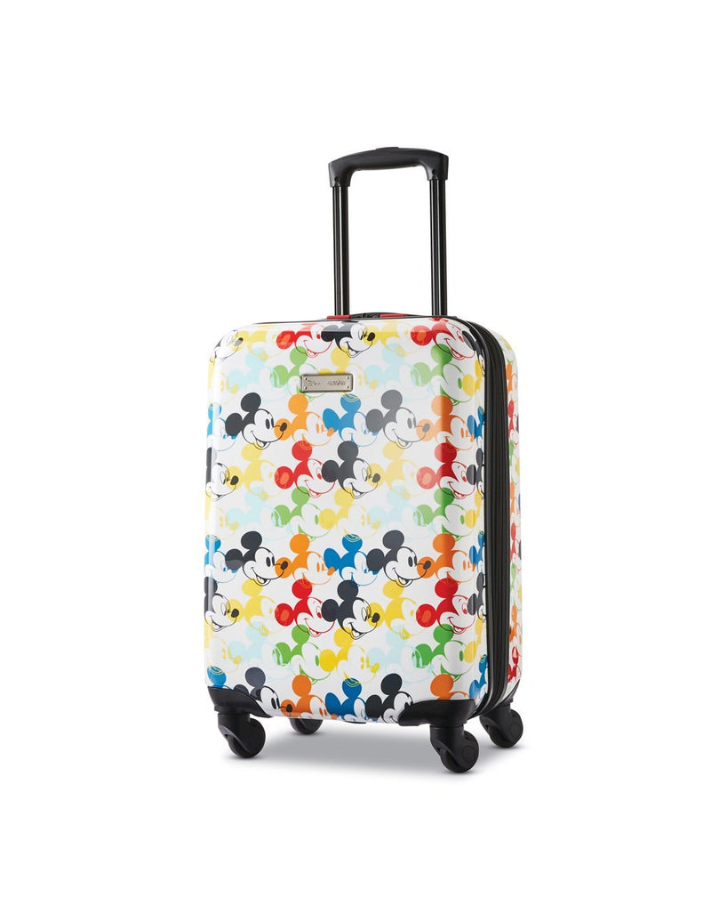 Disney roll aboard 2pc set luggage bag four wheels front view