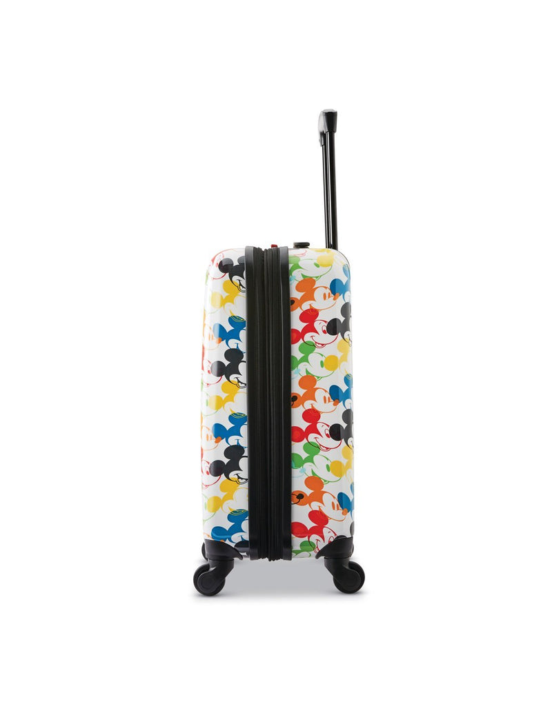 Disney roll aboard 2pc set luggage bag four wheels right view