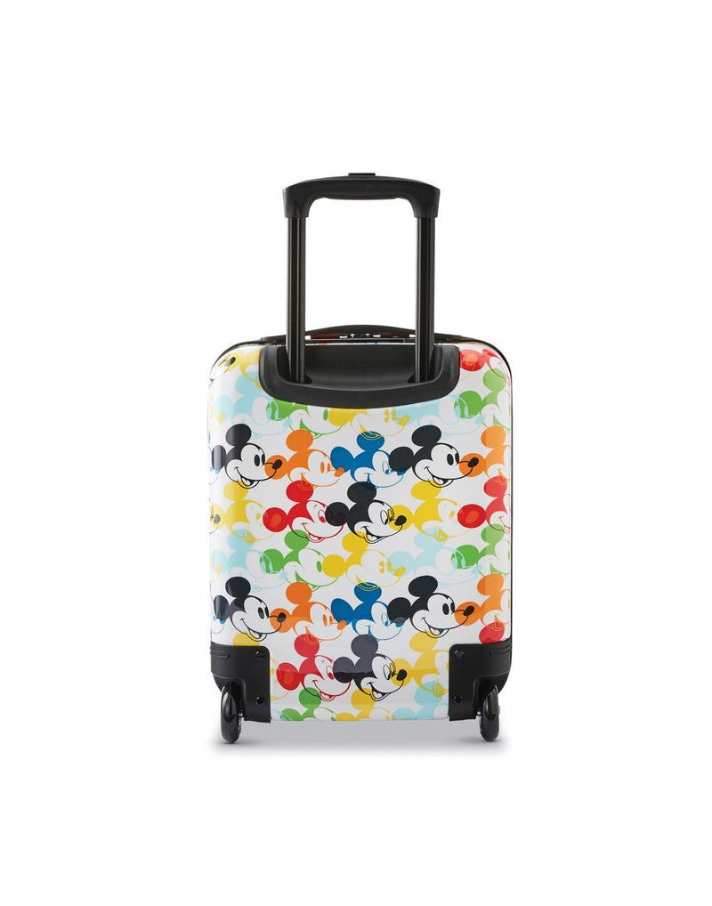 Disney roll aboard 2pc set luggage bag two wheels back view