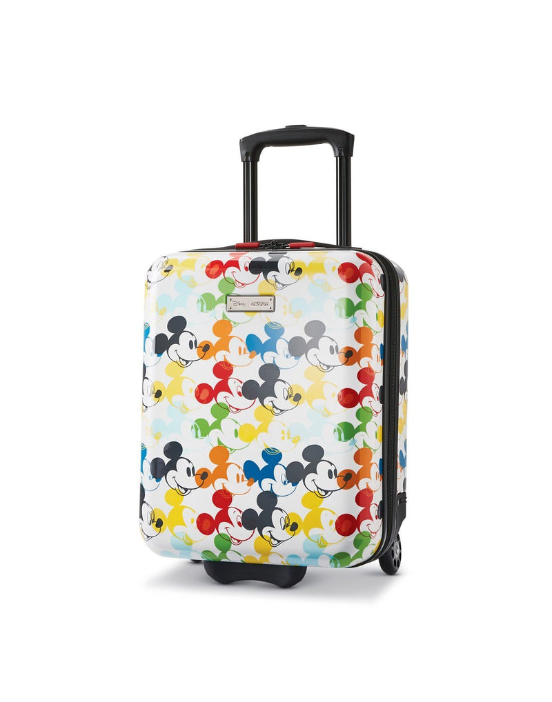 Disney roll aboard 2pc set luggage bag two wheels front view