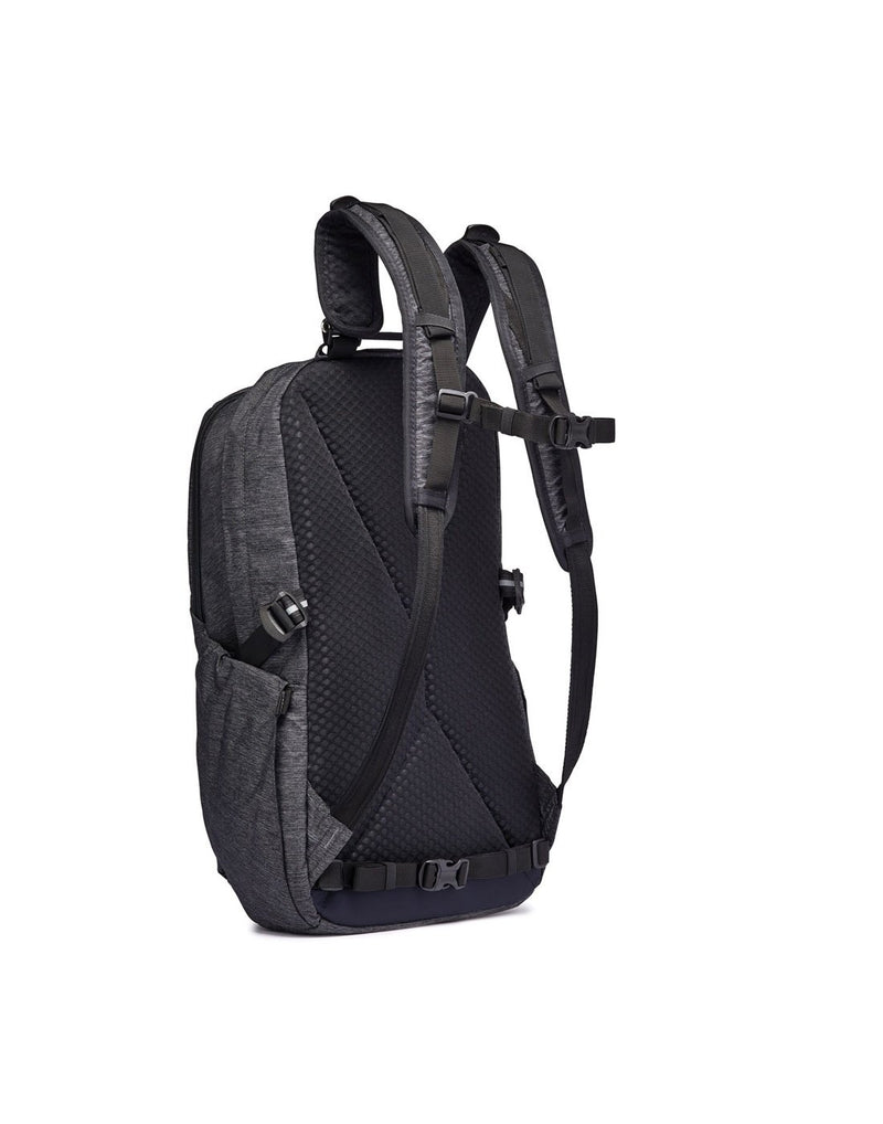 Pacsafe vibe 25l anti-theft backpack back view