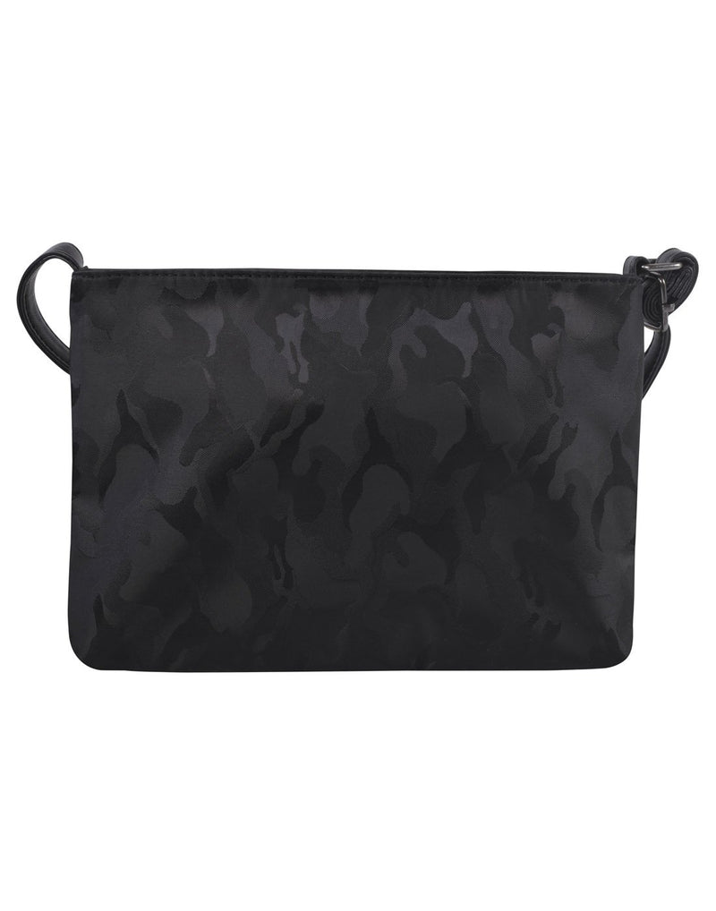 Bench camoflage mini crossbody black colour purse back view