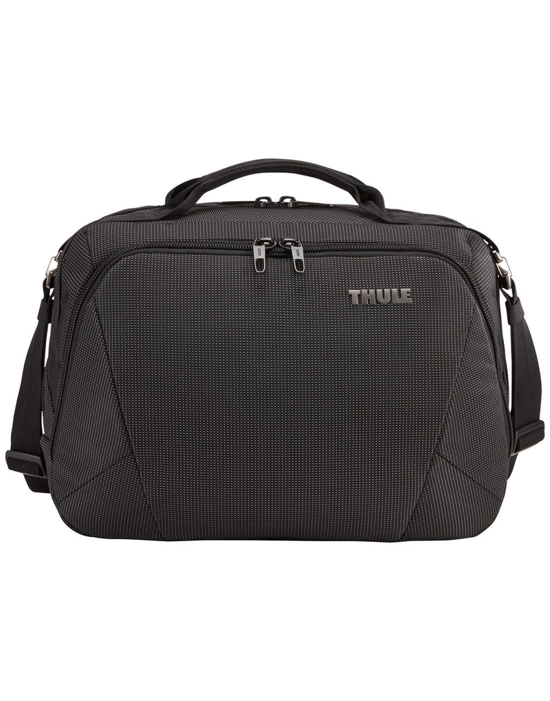Thule crossover 2 black colour boarding bag front view