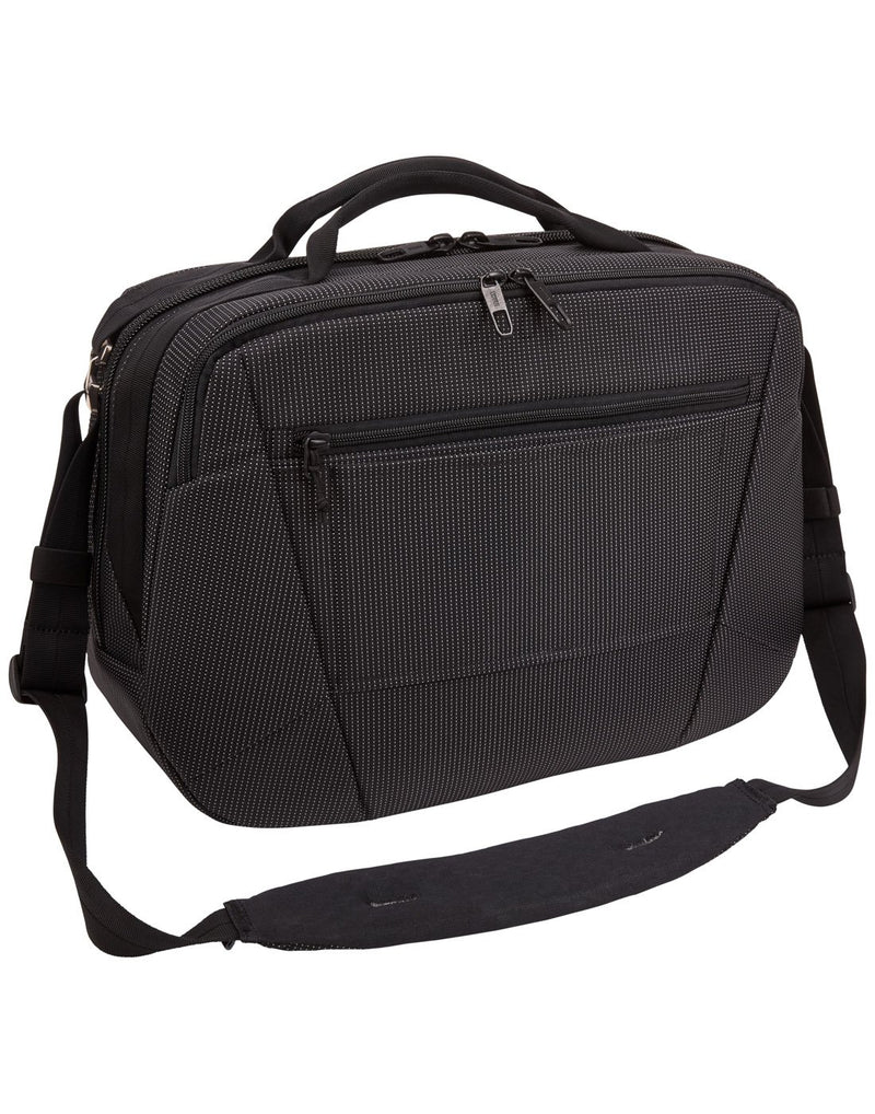 Thule crossover 2 black colour boarding bag back view