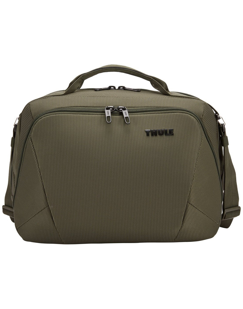 Thule crossover 2 forest night colour boarding bag front view