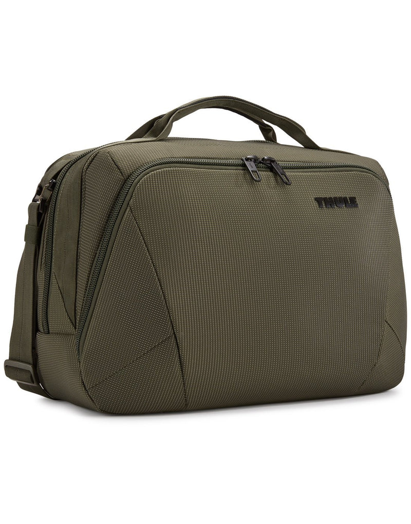Thule crossover 2 forest night colour boarding bag corner view