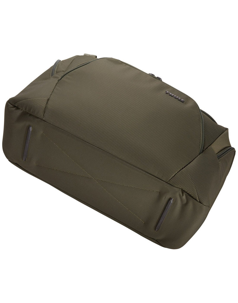 Thule crossover 2 forest night colour 44L duffel bag down side