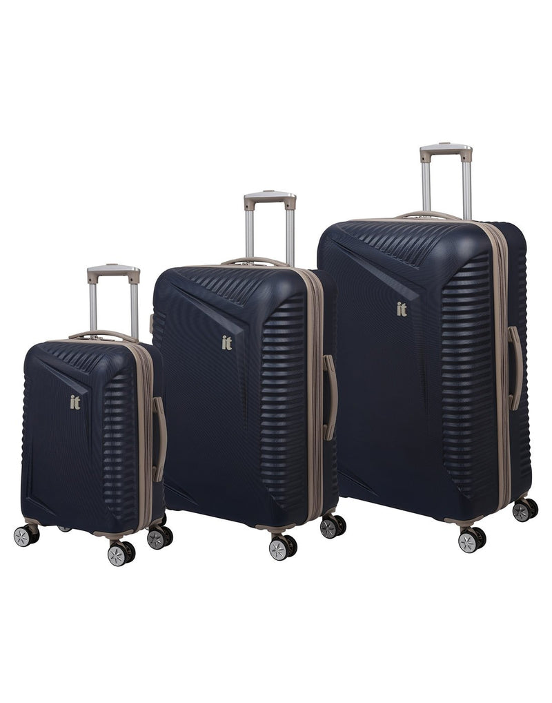 "It outlook 31"" spinner blue colour luggage bag product set"