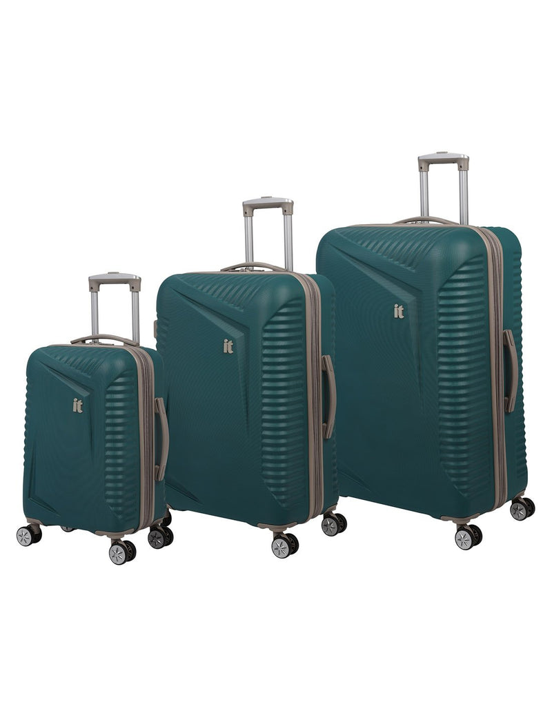 "It outlook 31"" spinner teal colour luggage bag product set"