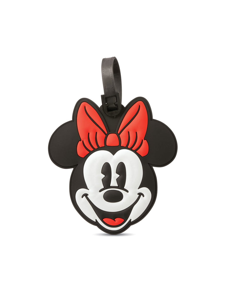 American tourister minnie mouse luggage tag front view